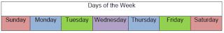 ELL Lessons: Days of the Week