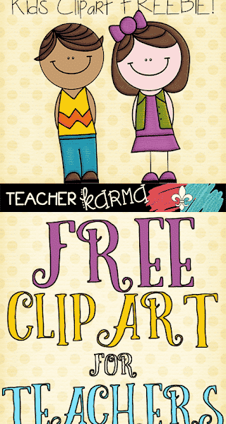Free Clipart for Teachers!