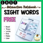 Sight Words – SIMPLE Interactive Notebook