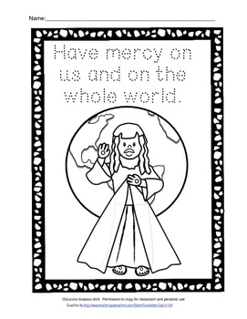 Free Divine Mercy Printable for Year of Mercy