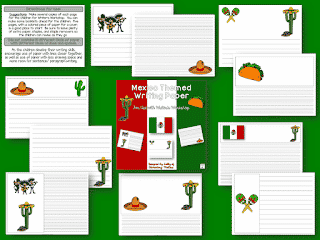 Writing Paper for Cinco de Mayo