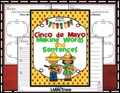 Cinco de Mayo: Making Words and Sentences