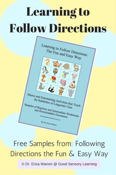 Following Directions Freebie: A Critical Activity for Elementary Students