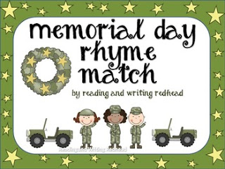 Memorial Day Rhyming