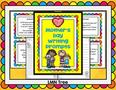 Mother's Day Writing Prompts and Poem