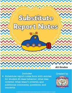 Sub Report Notes