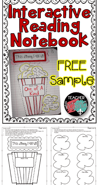 INTERACTIVE Book Report Freebie!!