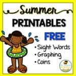 Summer Fun Math Printables