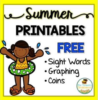 Summer Fun Math Printables