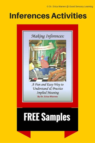 Inferences Activities – Free Samples