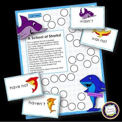 Shark Week – Contractions!