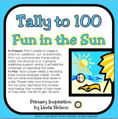 Tally to 100 – Fun in the Sun!