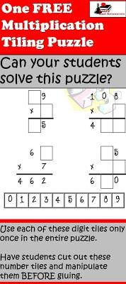 Free Multiplication Puzzle