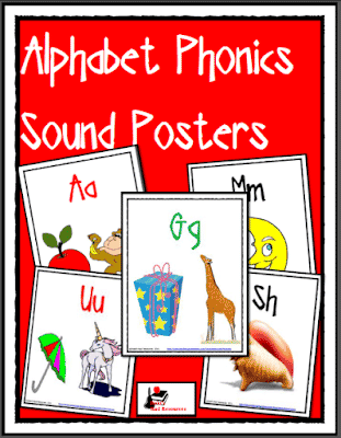 Free Letter Sound Posters with Pictures