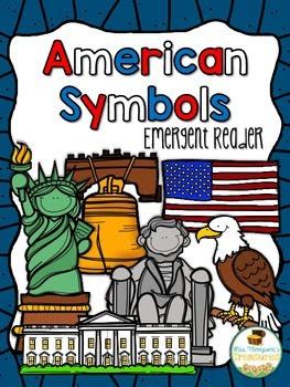 Free American Symbols Emergent Reader