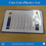 Color Coded Number Grid