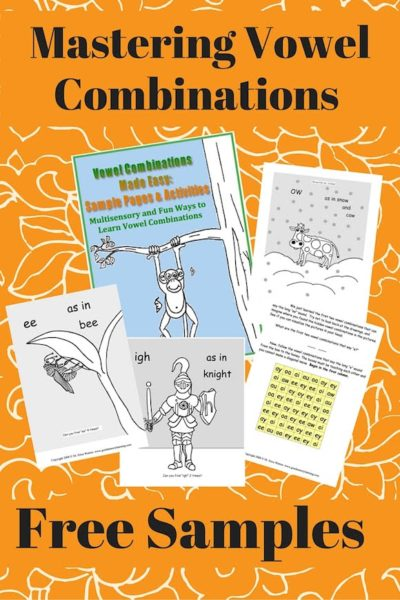Mastering the Vowel Combinations or Teams with Fun Activities