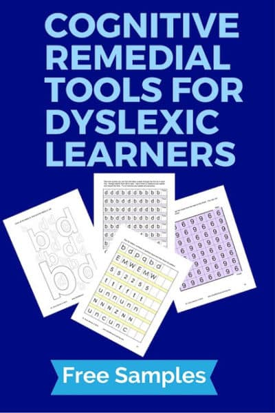 Cognitive Remedial Tools for Dyslexia: Sample Activities
