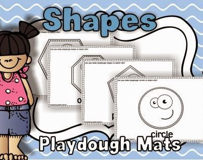 Shapes & Playdough