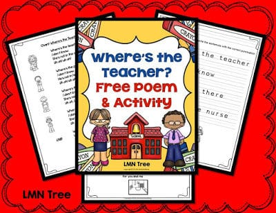 """""""Where's the Teacher?""""- Connecting Poetry and Punctuation"""