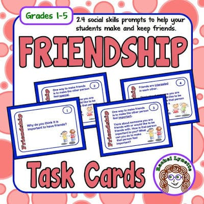 Friendship Cards – Help Your Students Make and Keep Friends