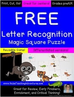 Letter Recognition FREEBIE