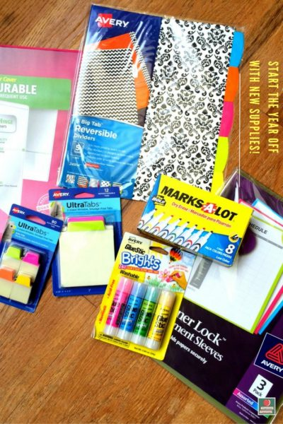 Back to School with New Supplies and Freebies!
