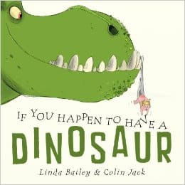 Book Activity for If You Happen to Have a Dinosaur
