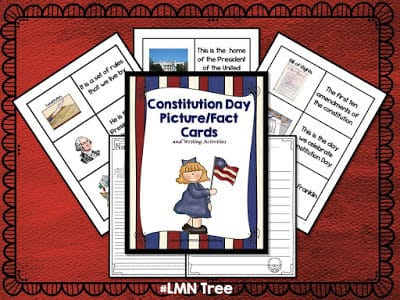 Constitution Day Literacy Activity Packet