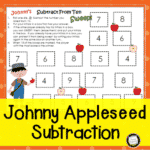 Johnny Appleseed Math Game