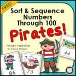 Number Activities for Pirates Day