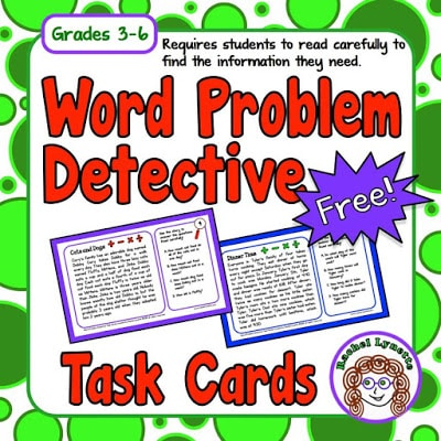 Word problem detectives