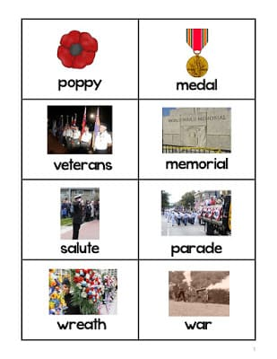Veterans Day Freebies