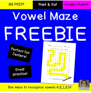 FREE Alphabet Maze