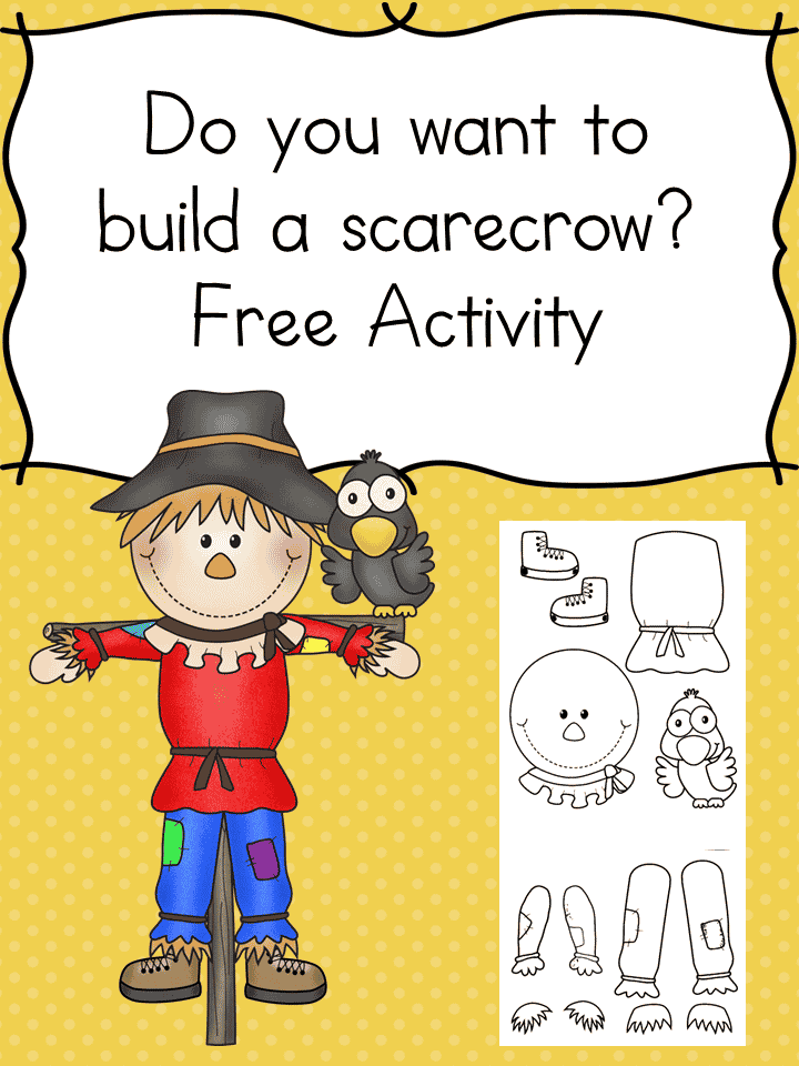 Do You Want To Build A Scarecrow Free Printable