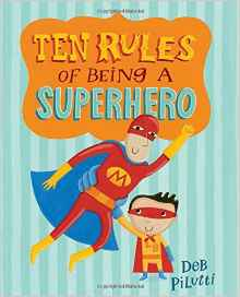 Two Book Activities: Ten Rules of Being a Superhero