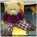 Fern Smith's Free Christmas Bear In A Chair Writing Journal