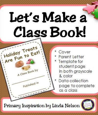 Holiday Treats Class Book