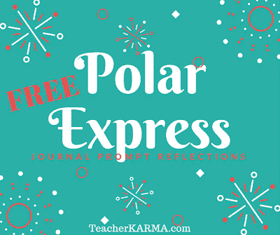 Polar Express Journal Prompts FREEBIE