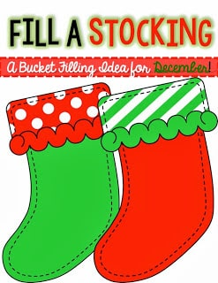 Fill a Bucket—I mean Stocking!
