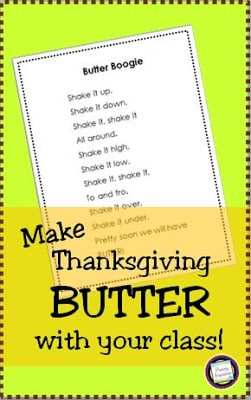 Making and Shaking – Thanksgiving Butter!