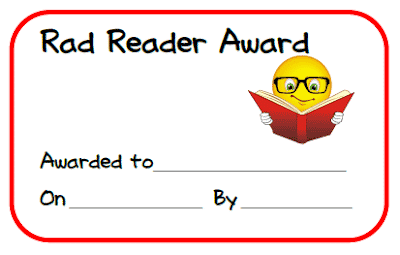 Free student award certificates from Raki's Rad Resources.