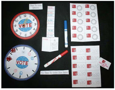 It's Time To Vote! Digital & Analog Time Games