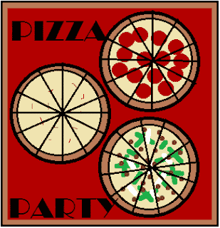Fractions on a Line Plot: Pizza Party
