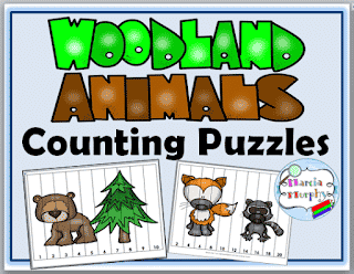 Number Sequence Puzzles Freebie