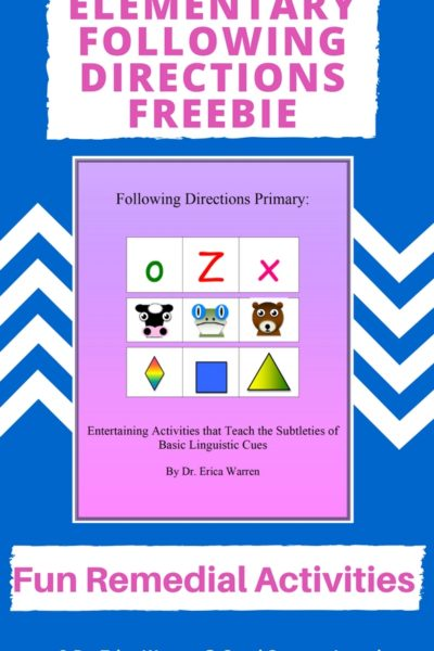 Elementary Following Directions Skills – Free Sample