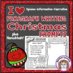 Christmas and Hanukkah Writing Prompts
