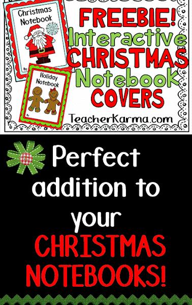 Christmas Interactive Notebook FREEBIE