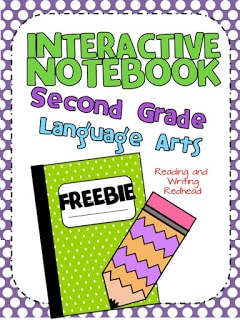 Interactive Notebook Freebie for Language Arts