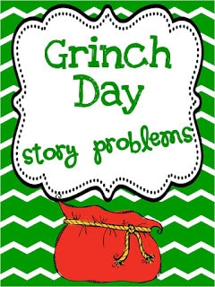 Grinch Day Story problems